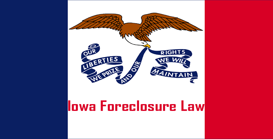Iowa Foreclosure Law