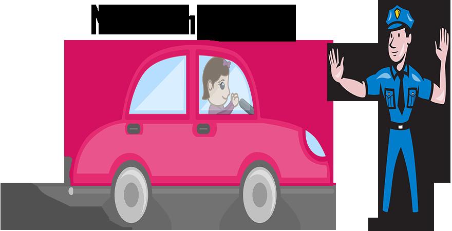 No Rash driving, Traffic violations
