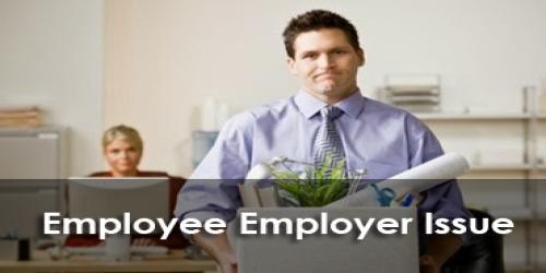 employee employer issue