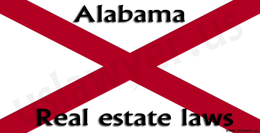 Alabama Real estate laws