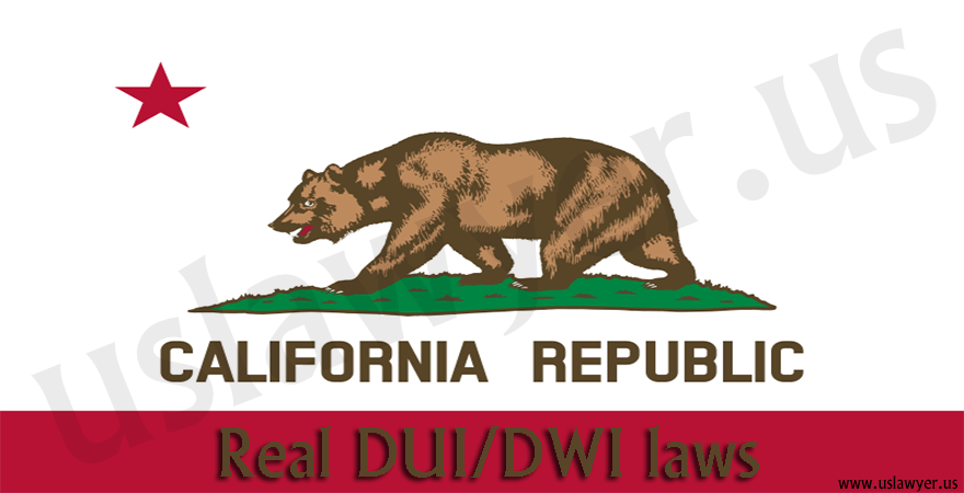 California DUI/DWI laws