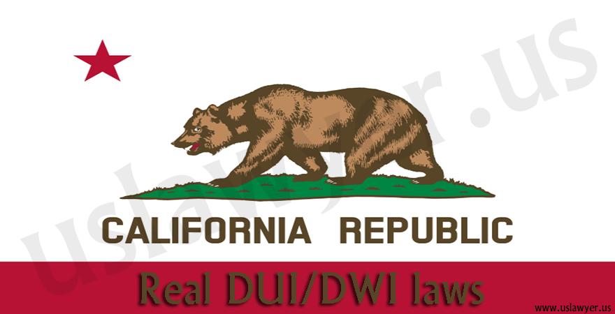 California DUI/DWI laws