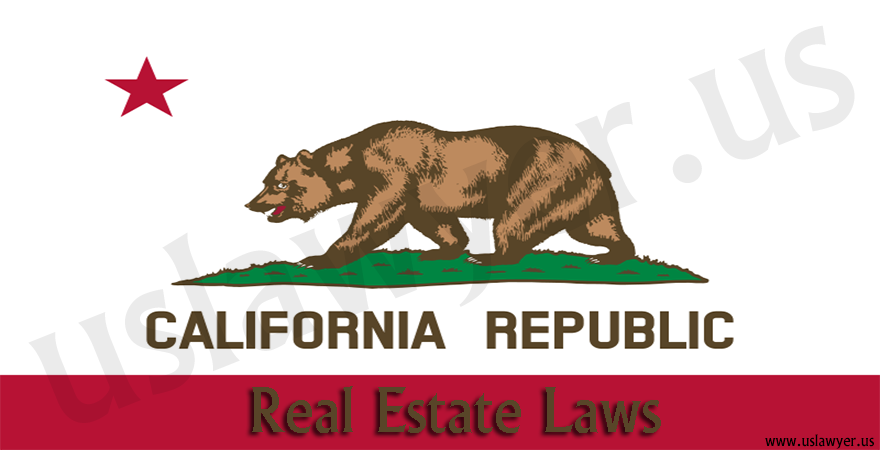 Real estate laws in California