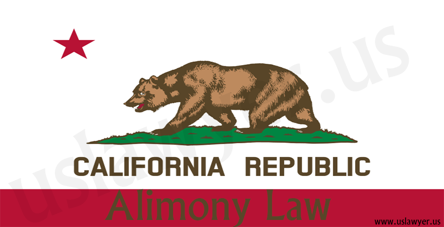 California alimony law, california alimony calculator