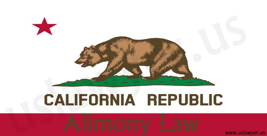 California alimony law, california alimony calculator