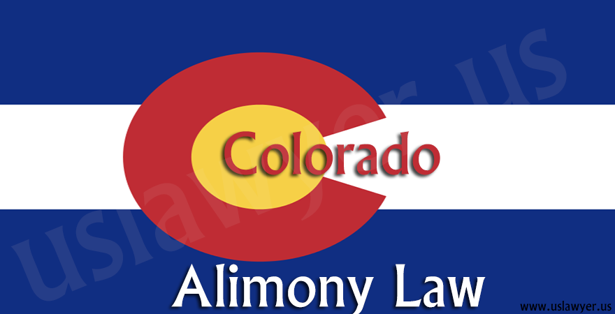 Colorado Alimony Law