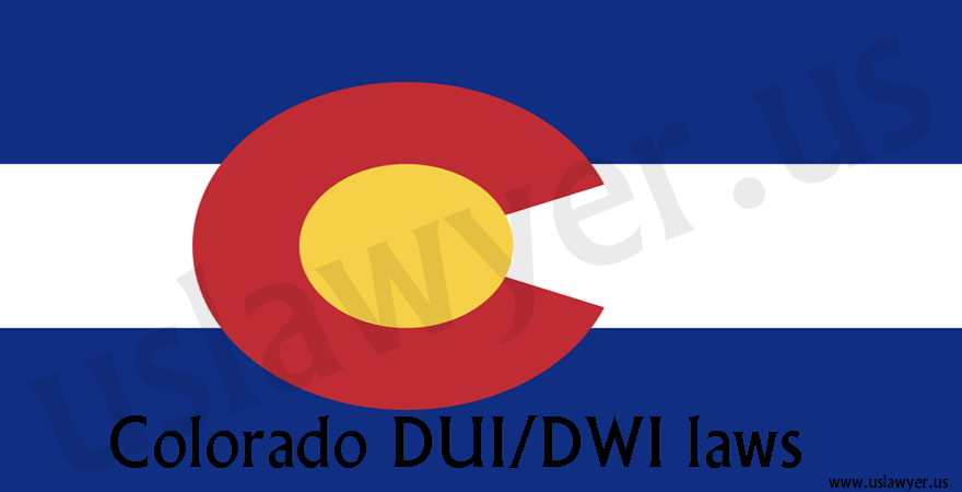 Colorado DUI/DWI laws