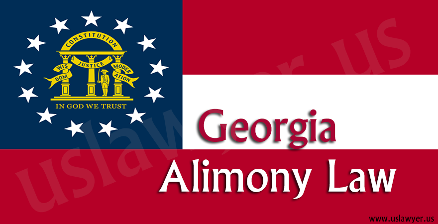 Georgia Alimony Law
