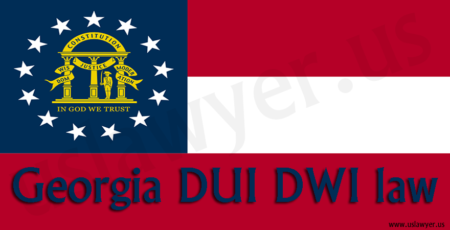 Georgia DUI DWI law