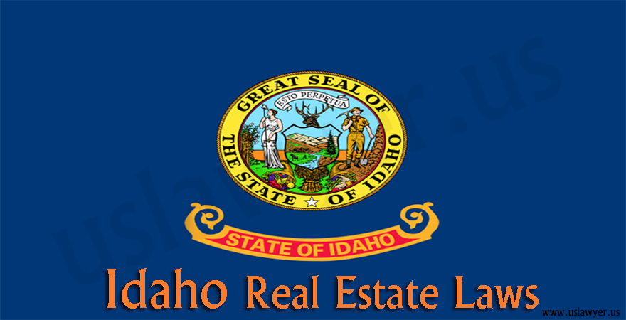 Idaho Real Estate laws