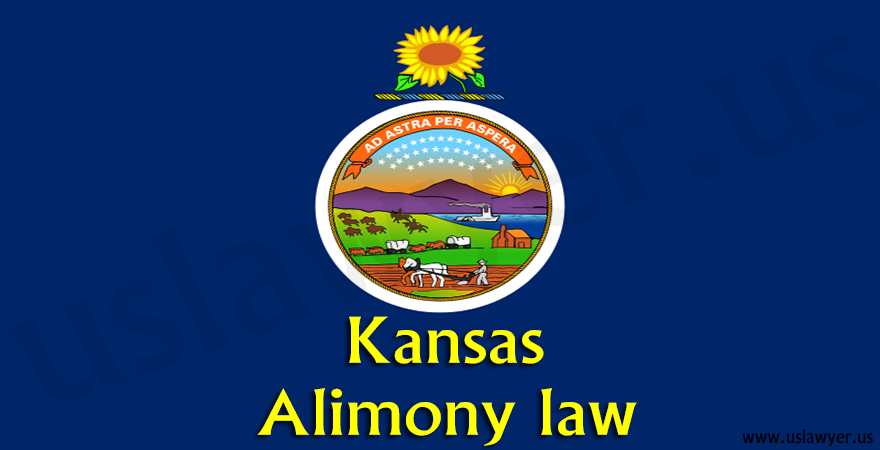 Kansas Alimony law