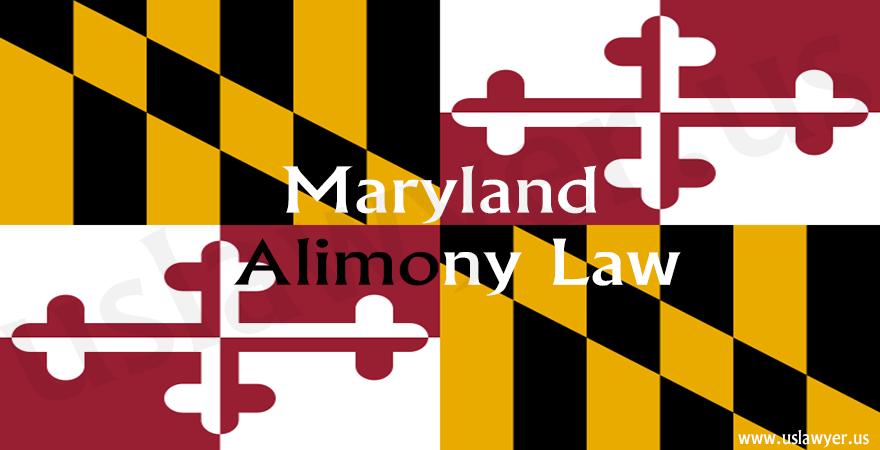 Maryland Alimony Law
