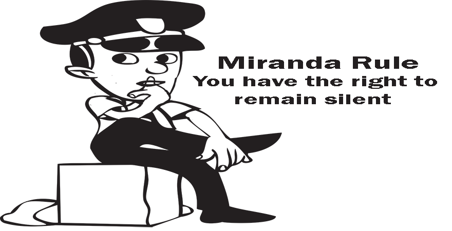 Miranda Rule You have the right to remain silent