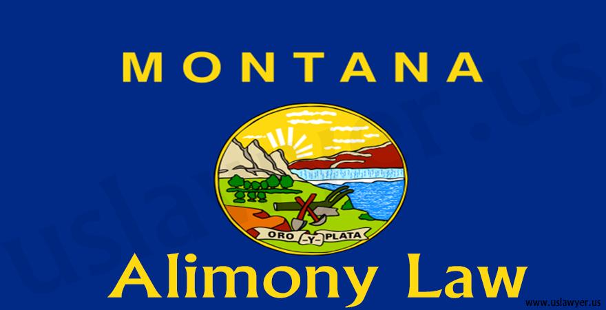 Montana Alimony Law