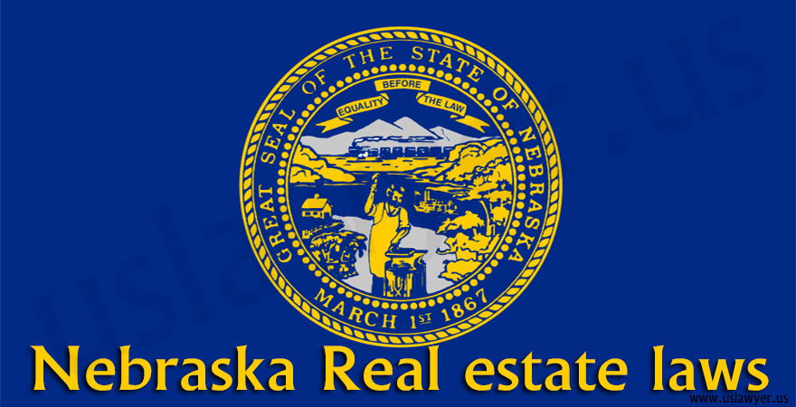 Nebraska Real estate laws