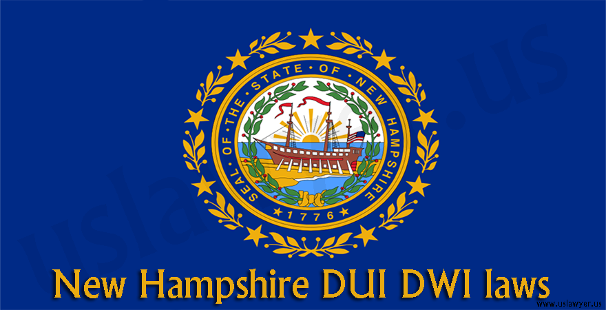 New Hampshire DUI DWI laws