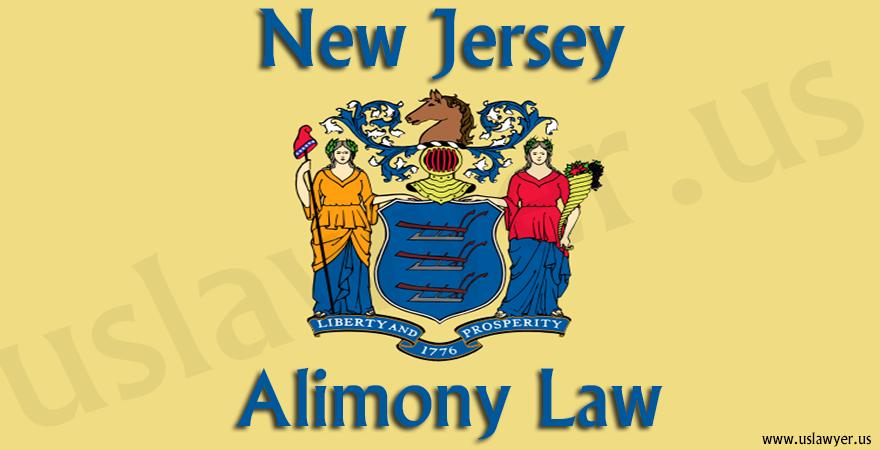 New Jersey Alimony Law