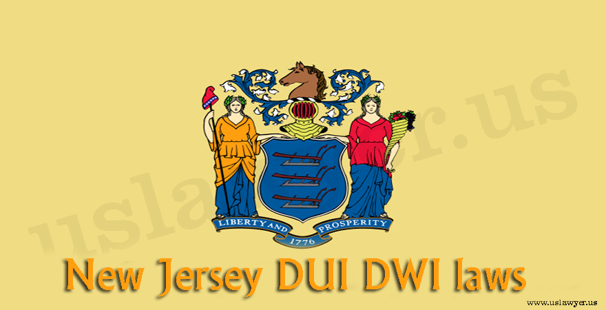 New Jersey DUI DWI laws