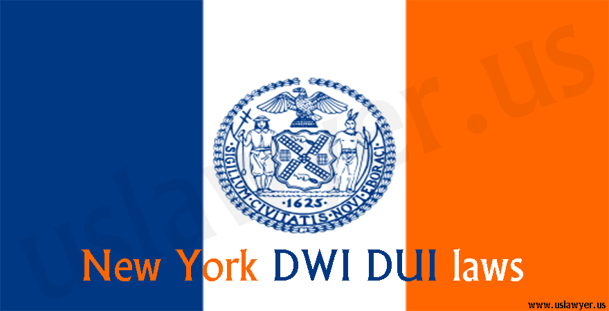 New York DWI DUI laws