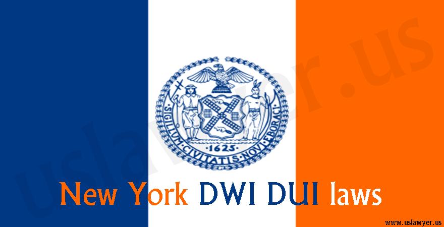 New York DWI DUI laws
