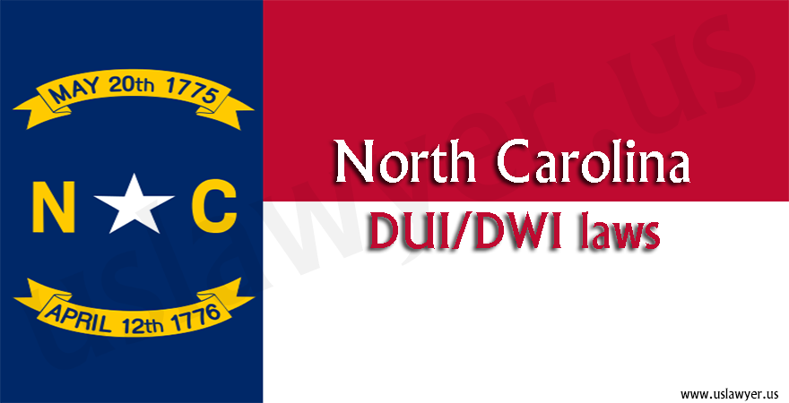 North Carolina DUI/DWI laws