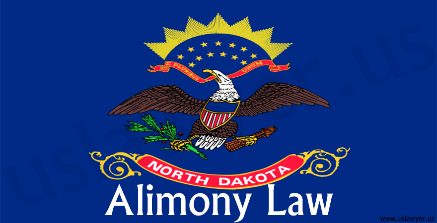 North Dakota alimony law