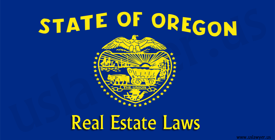 Oregon real estate laws