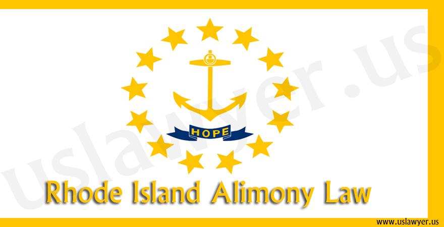 Rhode Island Alimony Law