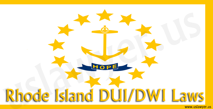 Rhode Island DUI/DWI Laws