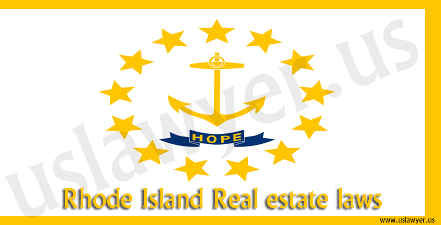 Rhode Island Real estate laws