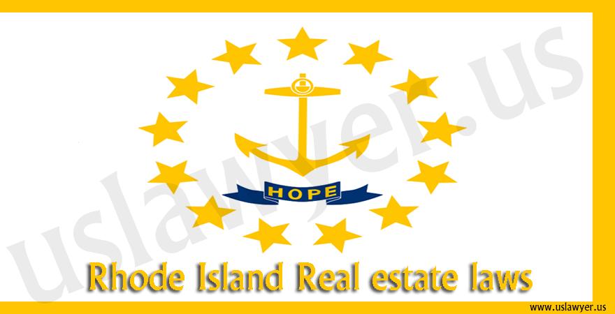 Rhode Island Real estate laws
