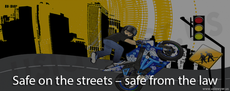 Safe on the streets – safe from the law