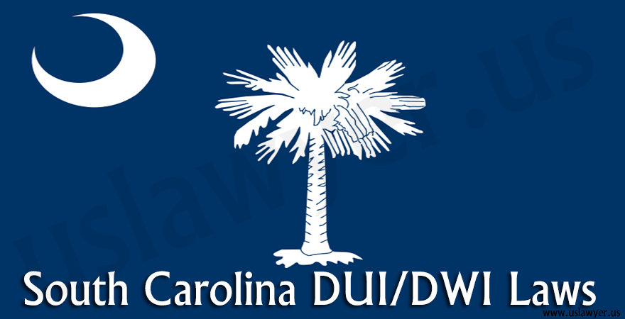 South Carolina DUI/DWI Laws