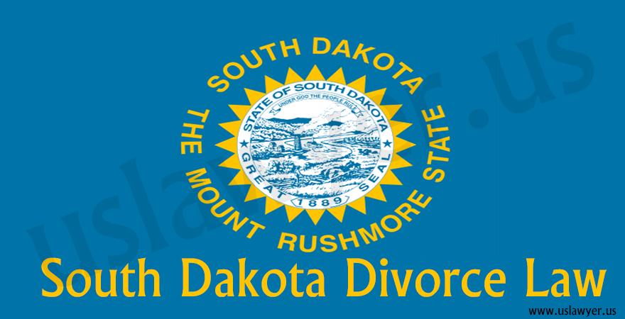 South Dakota Divorce Law, divorce in South Dakota