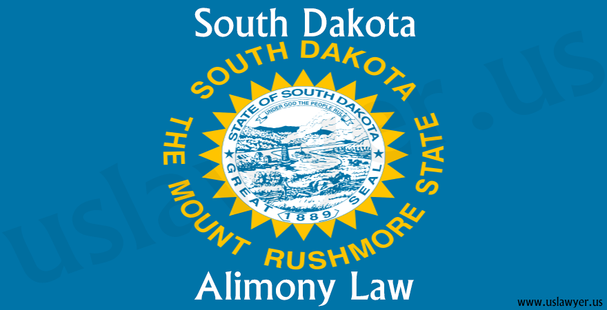 South Dakota alimony law