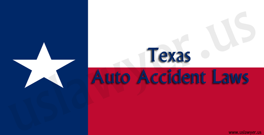 Texas Auto Accident Laws