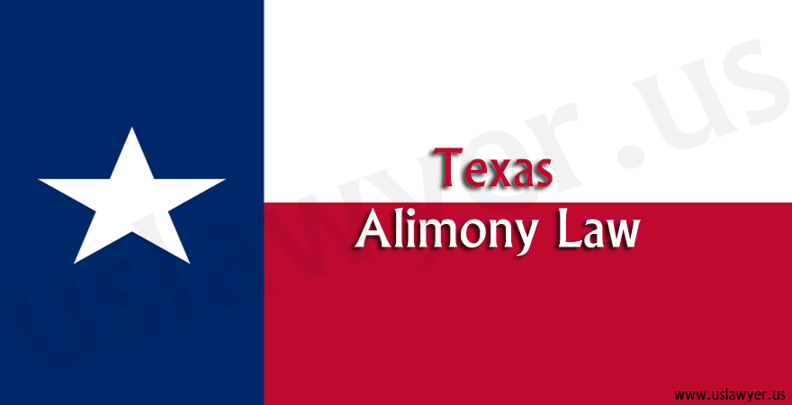 Texas alimony law