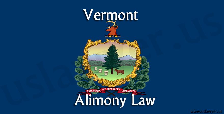 Vermont Alimony Law