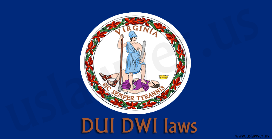 Virginia DUI DWI laws