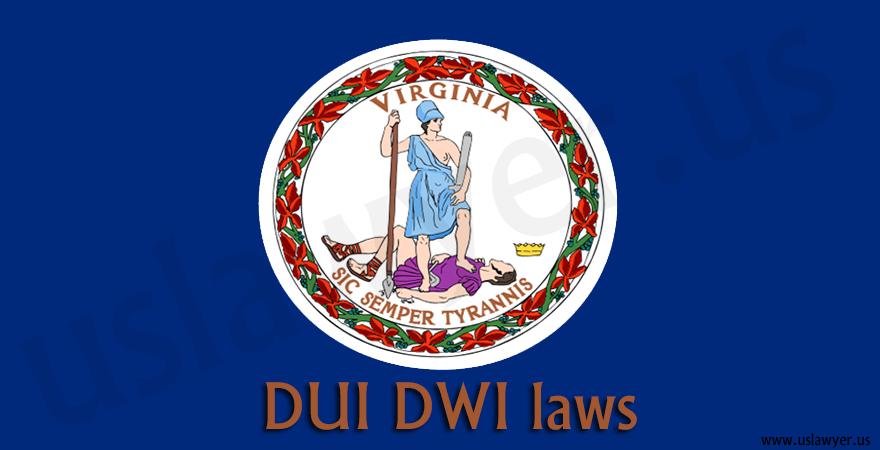 Virginia DUI DWI laws