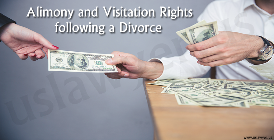 Alimony and Visitation Rights following a Divorce