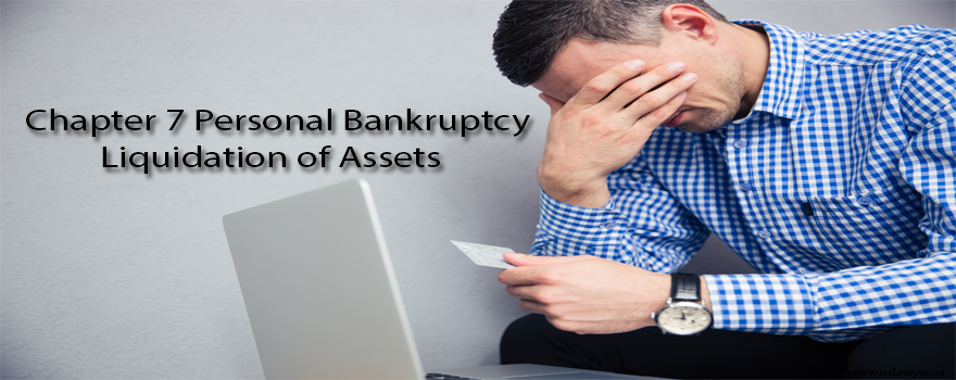 Chapter 7 Personal Bankruptcy Liquidation of Assets