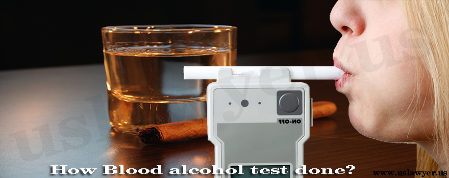 How Blood alcohol test done