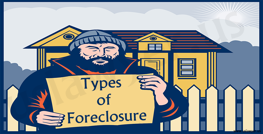 Home loan and types of foreclosure