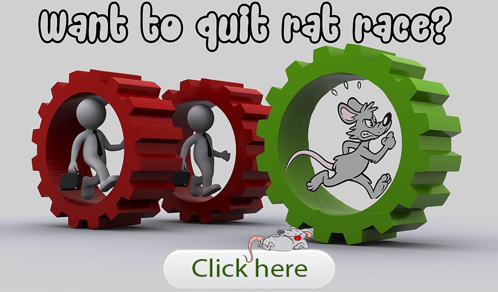 Want to quit rat race