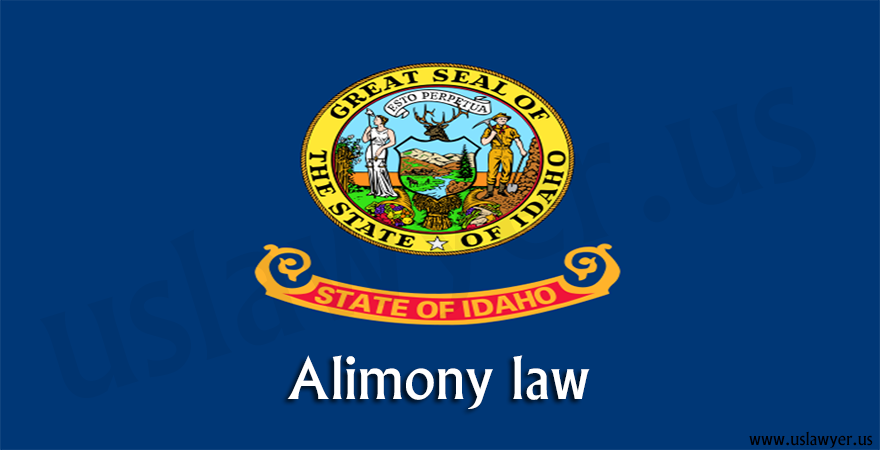 Idaho alimony law.