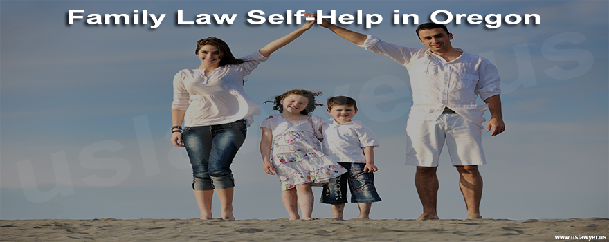 Family Law Self-Help in Oregon