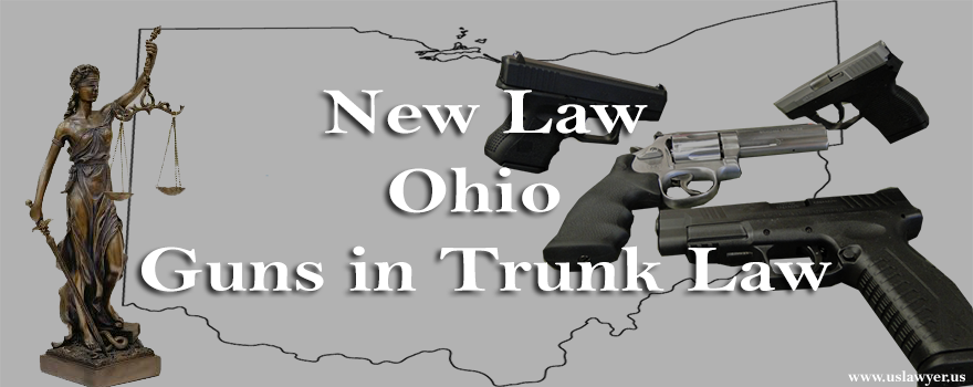 Ohio guns in trunk law