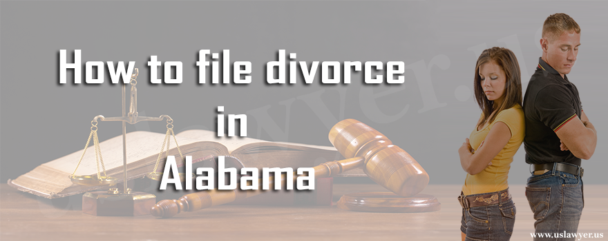 file divorce in Alabama
