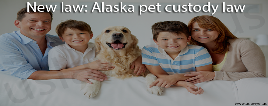 New law Alaska pet custody law